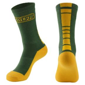 Women's Mojo Baylor Bears Champ 1/2-Cushion Performance Crew Socks