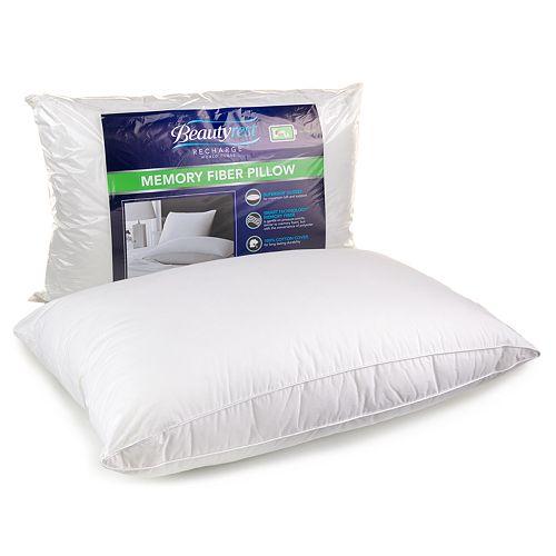 Beautyrest Memory Fiber Pillow - Standard / Queen