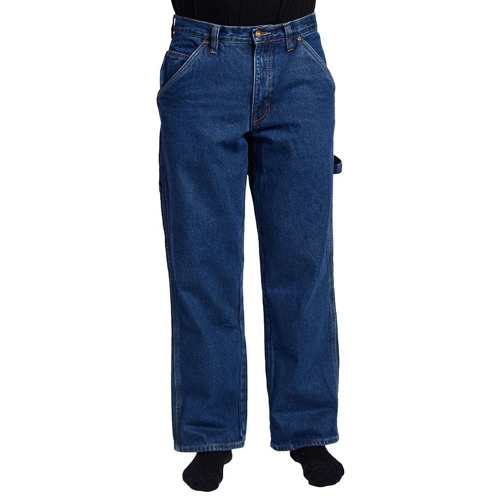 Men's Stanley Flannel-Lined Carpenter Jeans