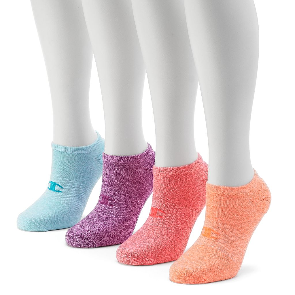 Champion Women's 4-pk. Cushioned Performance No-Show Socks
