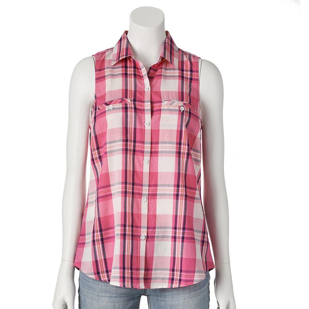 SONOMA Goods for Life™ Plaid Shirt - Women's