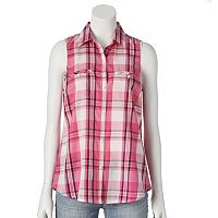 SONOMA Goods for Life™ Plaid Shirt - Women's