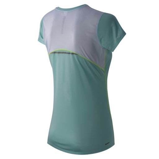 Women's New Balance Accelerate Scoopneck Workout Tee
