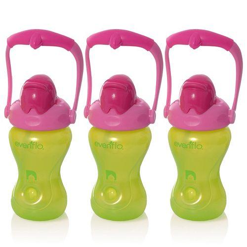 Evenflo Feeding 3-pk. Advanced 8-oz. Swing Handle Cups