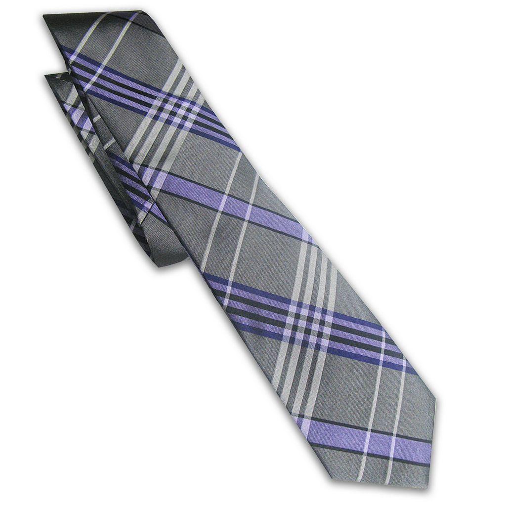 Men's Haggar® Plaid Soft Tone Tie