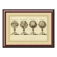 ''Spheres At Globes, 1791'' Framed Wall Art