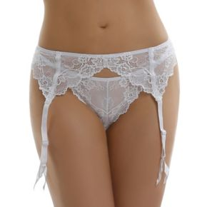 Jezebel Caress Too Lace Garter Belt 40533 - Women's