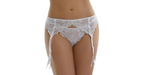 Jezebel Caress Too Lace Garter Belt 40533 Women S