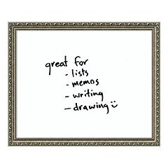 Parisian Dry Erase Board Wall Decor
