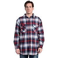 Men's Stanley Plaid Fleece-Lined Flannel Shirt Jacket