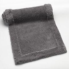 Plush Solid Bath Rug Runner - 22'' x 60''