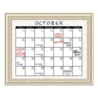 Calendar Dry Erase Board Wall Decor