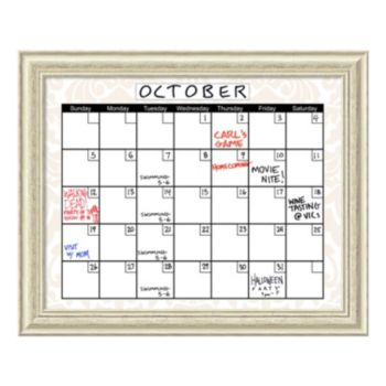 Calendar Dry Erase Board Wall Decor