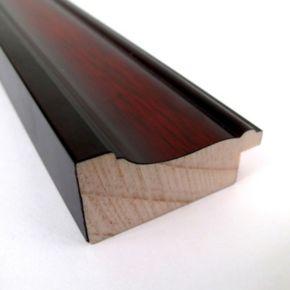 Rubino Cherry Finish Traditional Cork Board Wall Decor