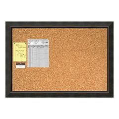 Signore Bronze Finish Traditional Cork Board Wall Decor