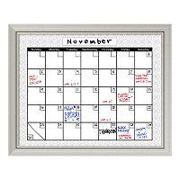 Medallion Calendar Dry Erase Board Wall Decor