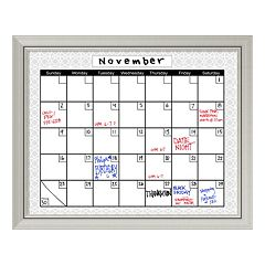 Medallion Calendar Dry Erase Board Wall Decor