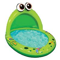 Banzai Jr. Spray'n Play Frog Splash Pool