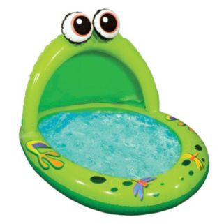 Banzai Jr. Spray'n Play Frog Splash Pool
