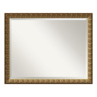 Solare Gold-Tone Traditional Wall Mirror
