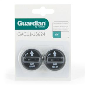 Guardian 2-pk. 6-Volt Replacement Batteries