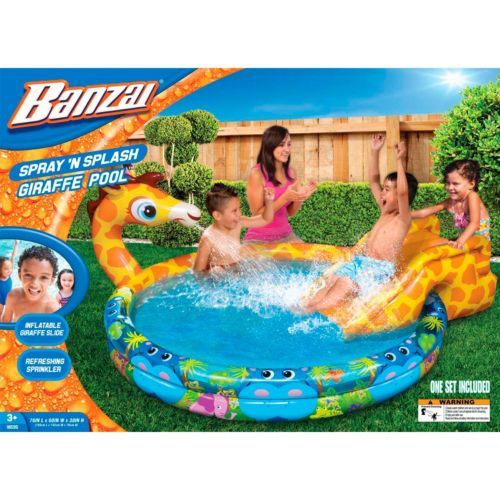 Banzai Spray 'n Splash Giraffe Pool