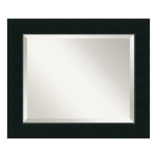 Corvino Black Modern Wall Mirror