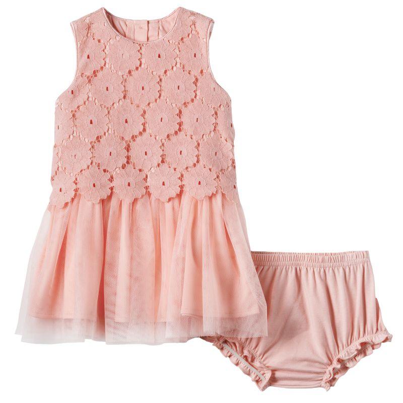 Girls Crochet Dress