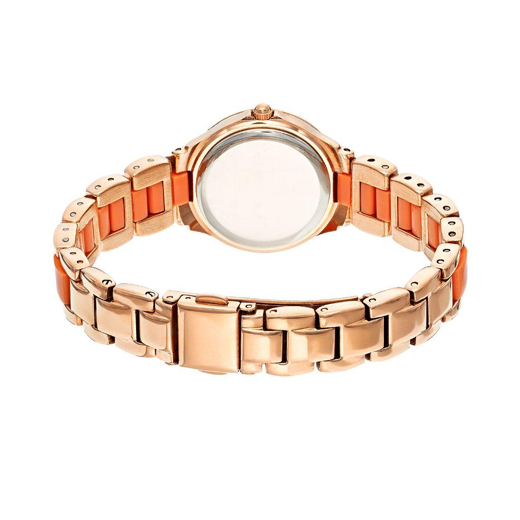 Armitron Women's Crystal Stainless Steel Watch