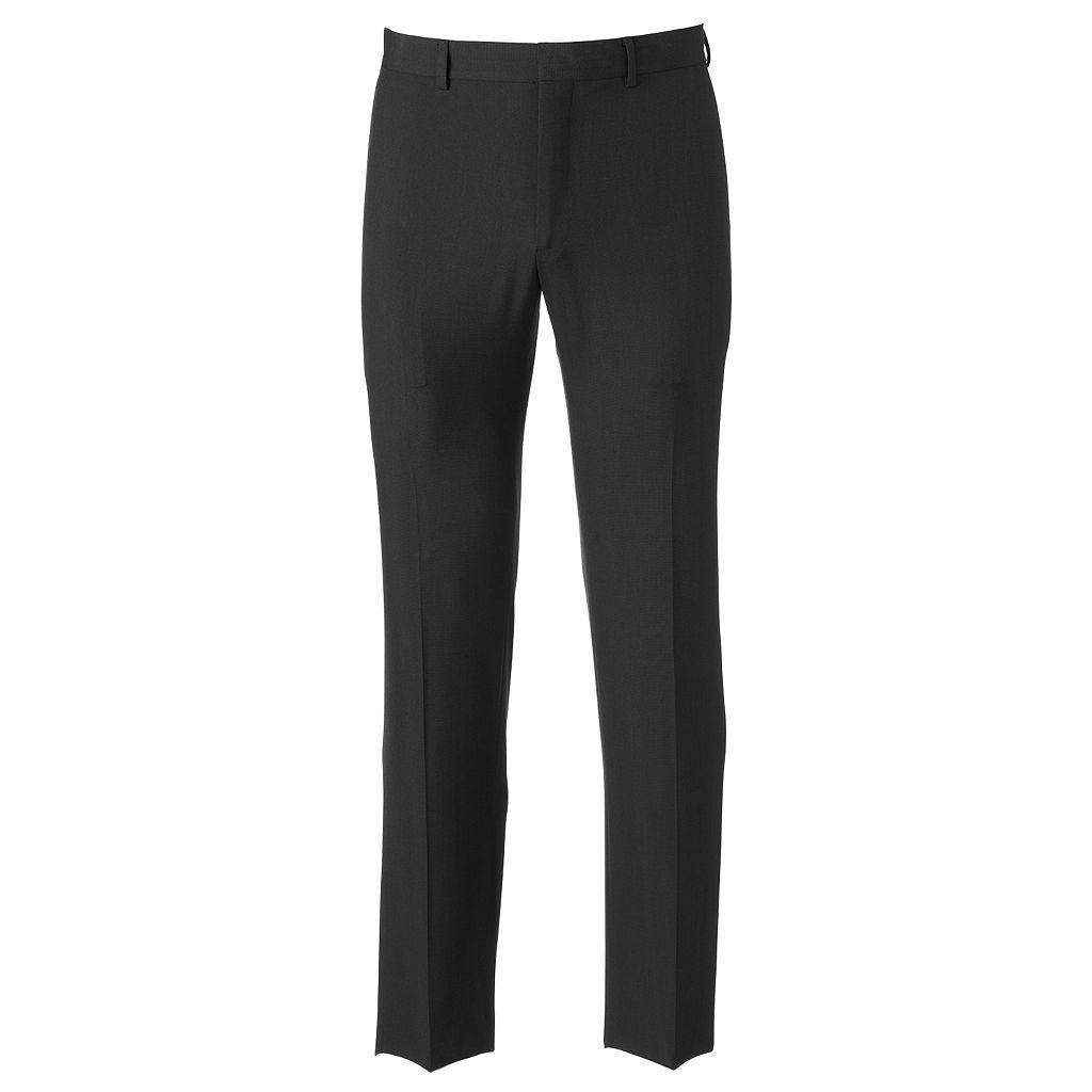 Men's Apt. 9® Slim-Fit Solid Flat-Front Dress Pants