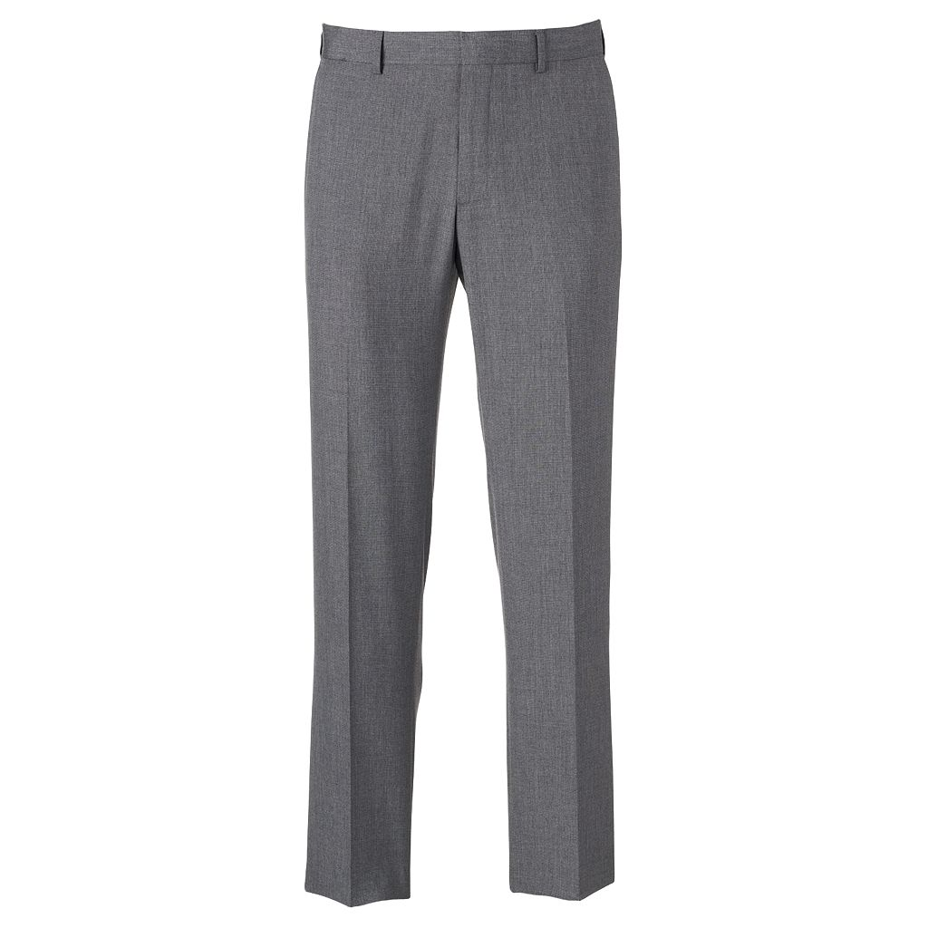 Men's Apt. 9® Slim-Fit Solid Flat-Front Dress Pants