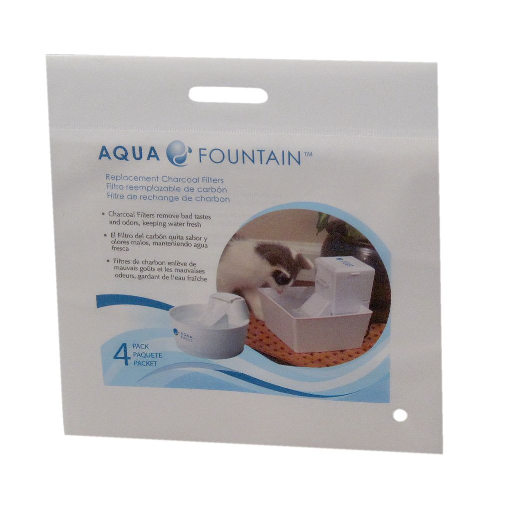 Aqua Pet 4-pk. Replacement Charcoal Fountain Filters