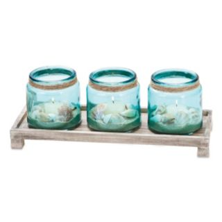 San Miguel Waverly Candle Tray Decor