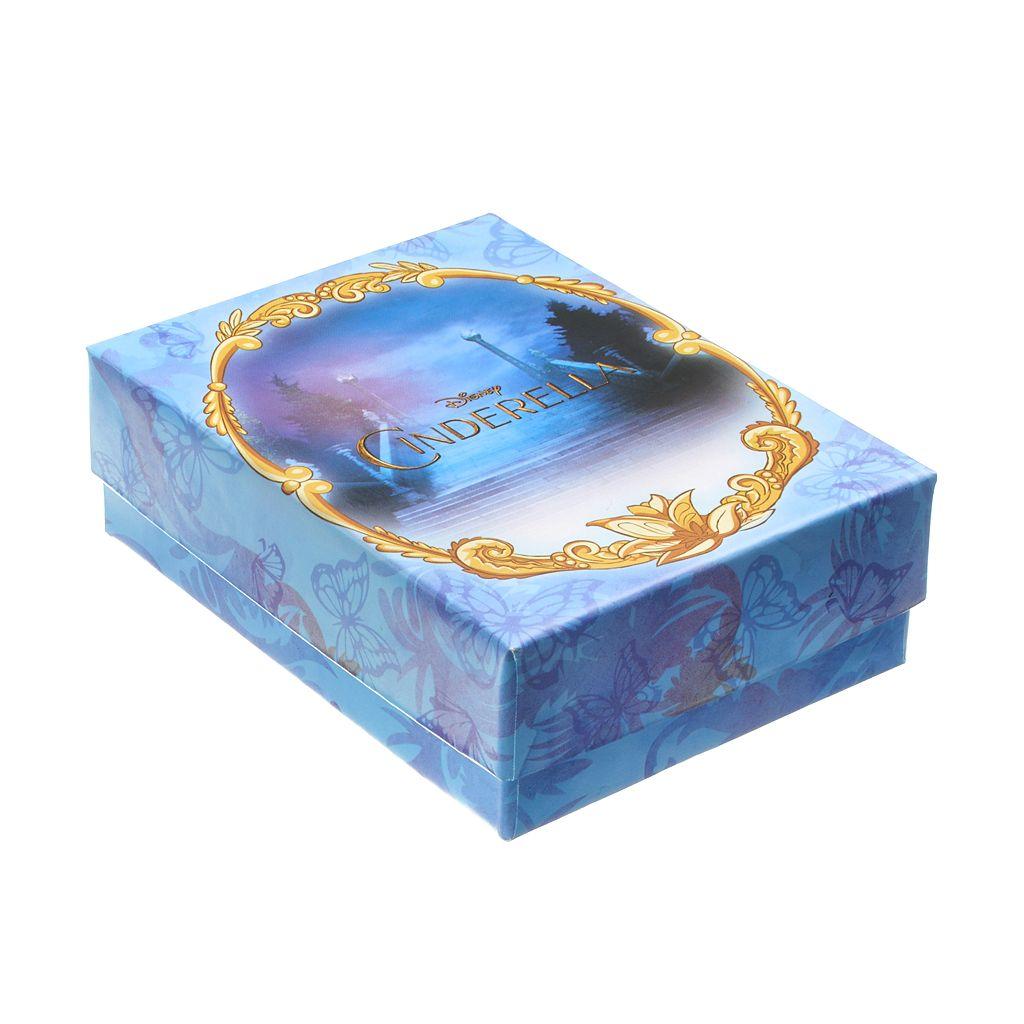 Disney's Cinderella Silver-Plated Coach & Disc Pendant Necklace