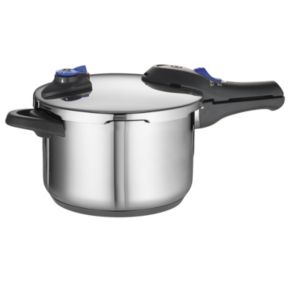 Tramontina Select 18/10 Stainless Steel Tri-Ply Base 6.3-qt. Pressure Cooker
