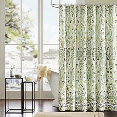 Intelligent Design Ellie Microfiber Fabric Shower Curtain