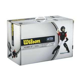 Wilson EZ Gear Catcher's Kit - Youth Large