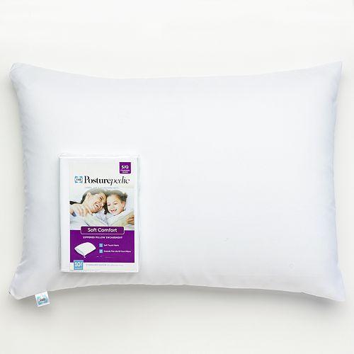Sealy Soft Comfort Pillow Protector - Standard / Queen