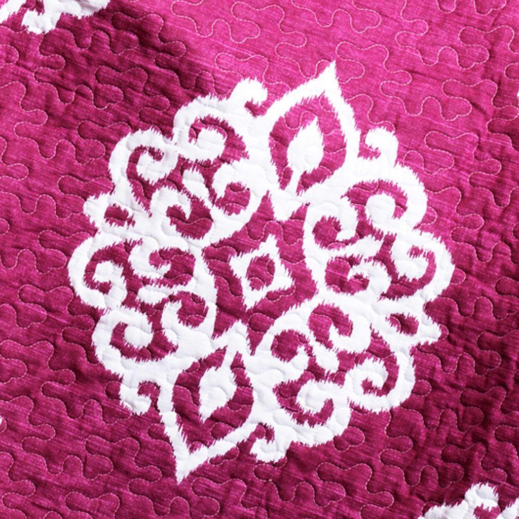 Lush Decor Sophie 3-pc. Reversible Quilt Set