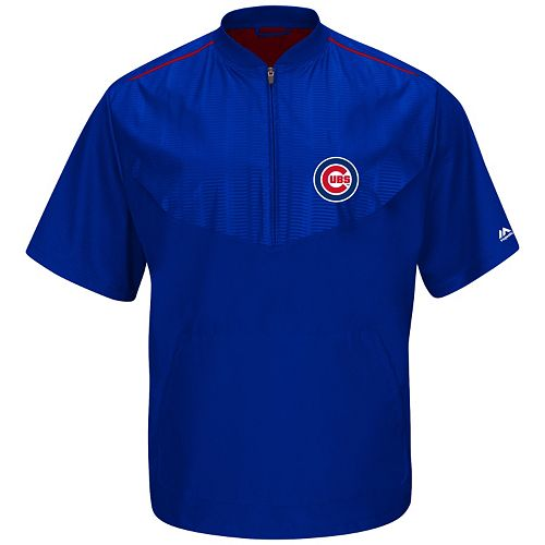 Majestic Chicago Cubs On-Field Cool Base Training Jacket - Men