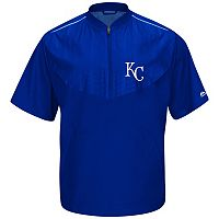 Men's Majestic Kansas City Royals On-Field Cool Base Training Jacket
