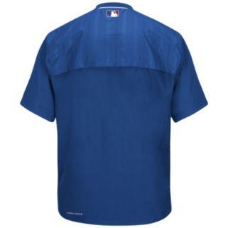 Men's Majestic Los Angeles Dodgers On-Field Cool Base Training Jacket