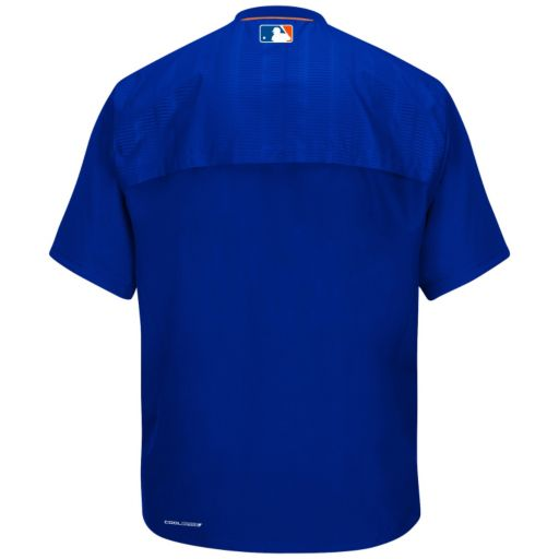 Men's Majestic New York Mets On-Field Cool Base Training Jacket