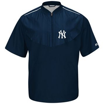 Men's Majestic New York Yankees On-Field Cool Base Training Jacket