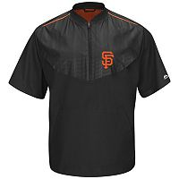 Men's Majestic San Francisco Giants On-Field Cool Base Training Jacket