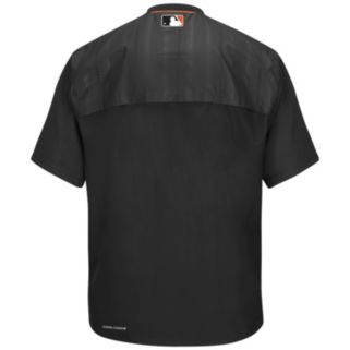 Men's Majestic San Francisco Giants On-Field Cool Base Training Jacket