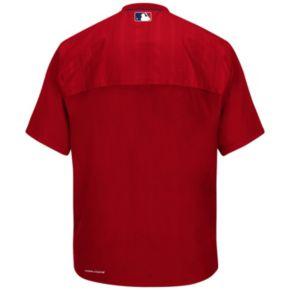 Men's Majestic St. Louis Cardinals On-Field Cool Base Training Jacket