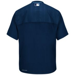 Men's Majestic Tampa Bay Rays On-Field Cool Base Training Jacket