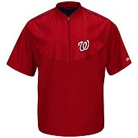Men's Majestic Washington Nationals On-Field Cool Base Training Jacket