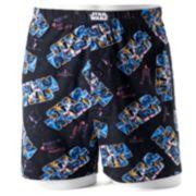Star Wars Boxer & Foam Drink Holder Set - Men